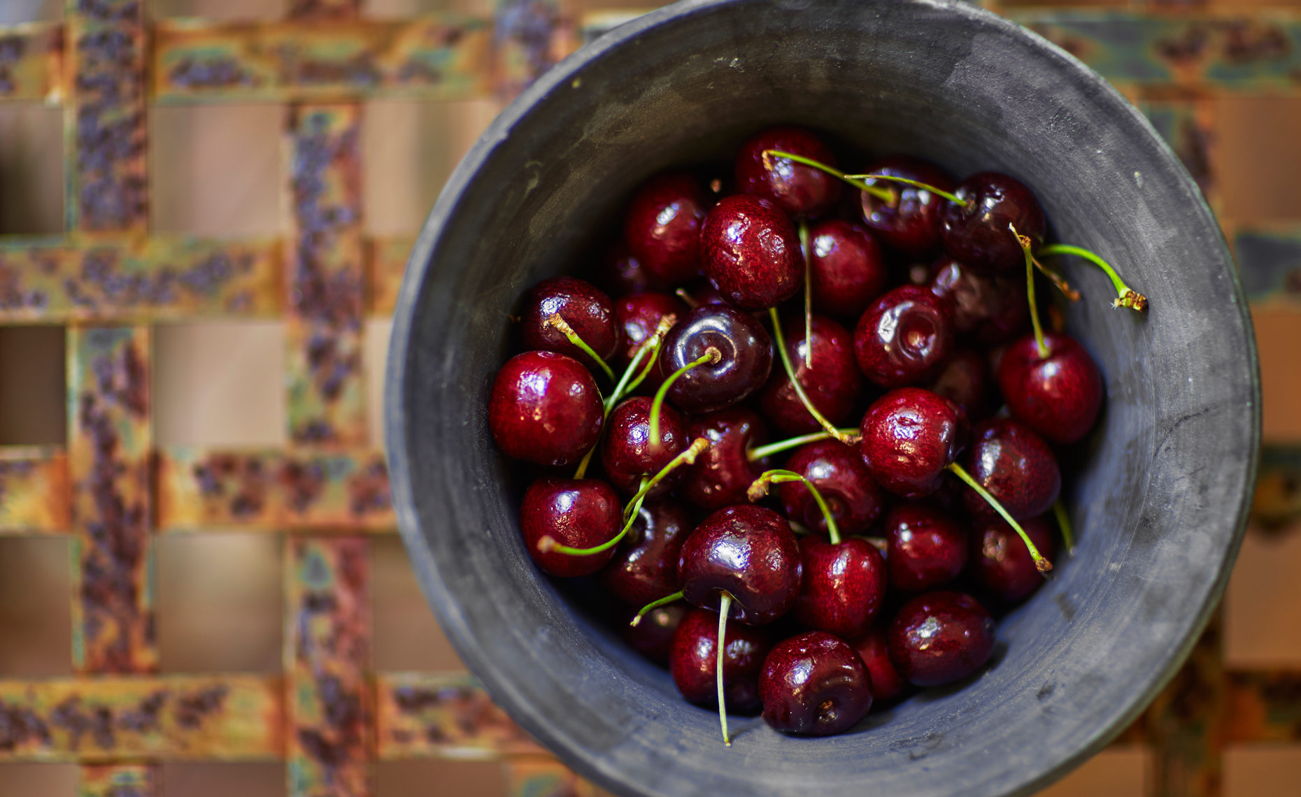 Cherries-Bowl