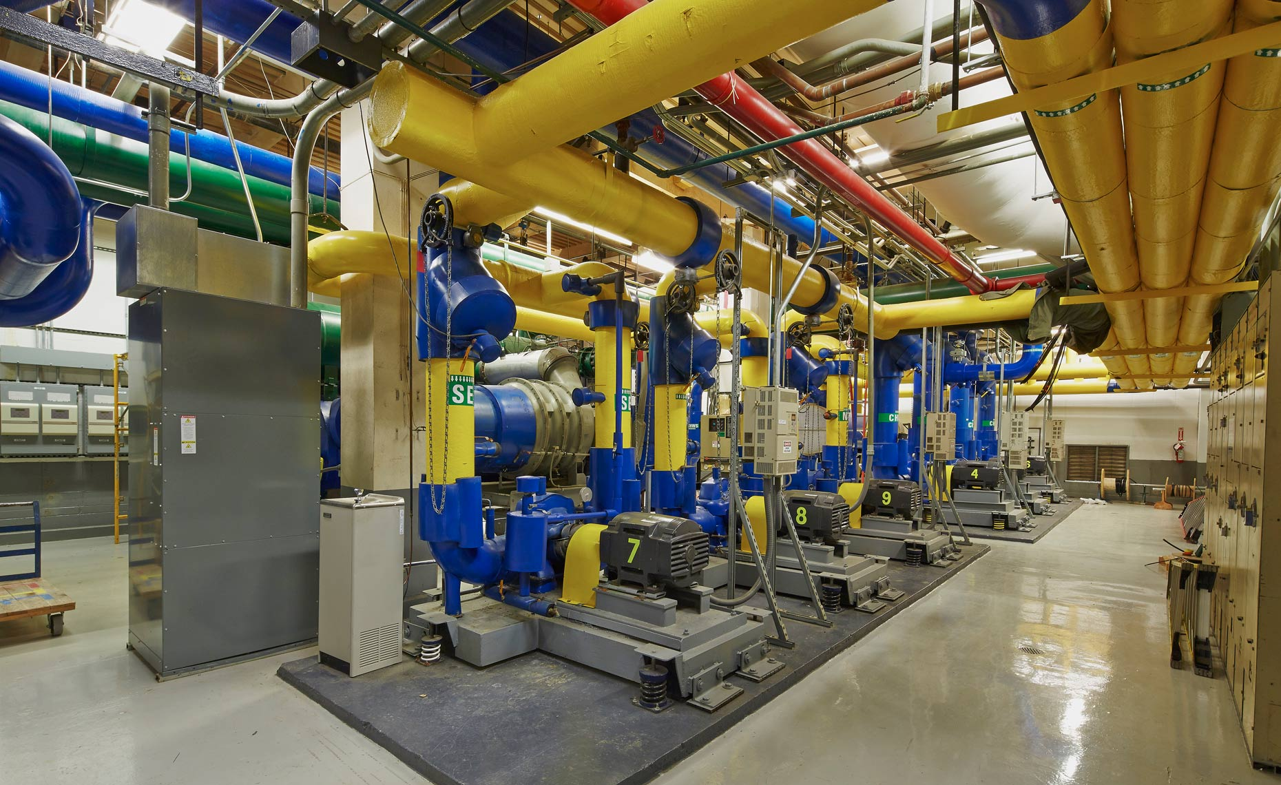 Memphis Architectural Photographer - Super-Clean-Boiler-Mechanical-Room