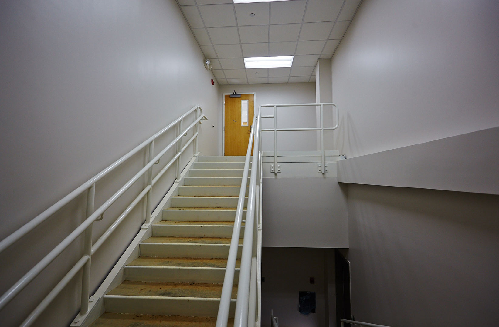 Warehouse-construction-interior-stairwell-photo