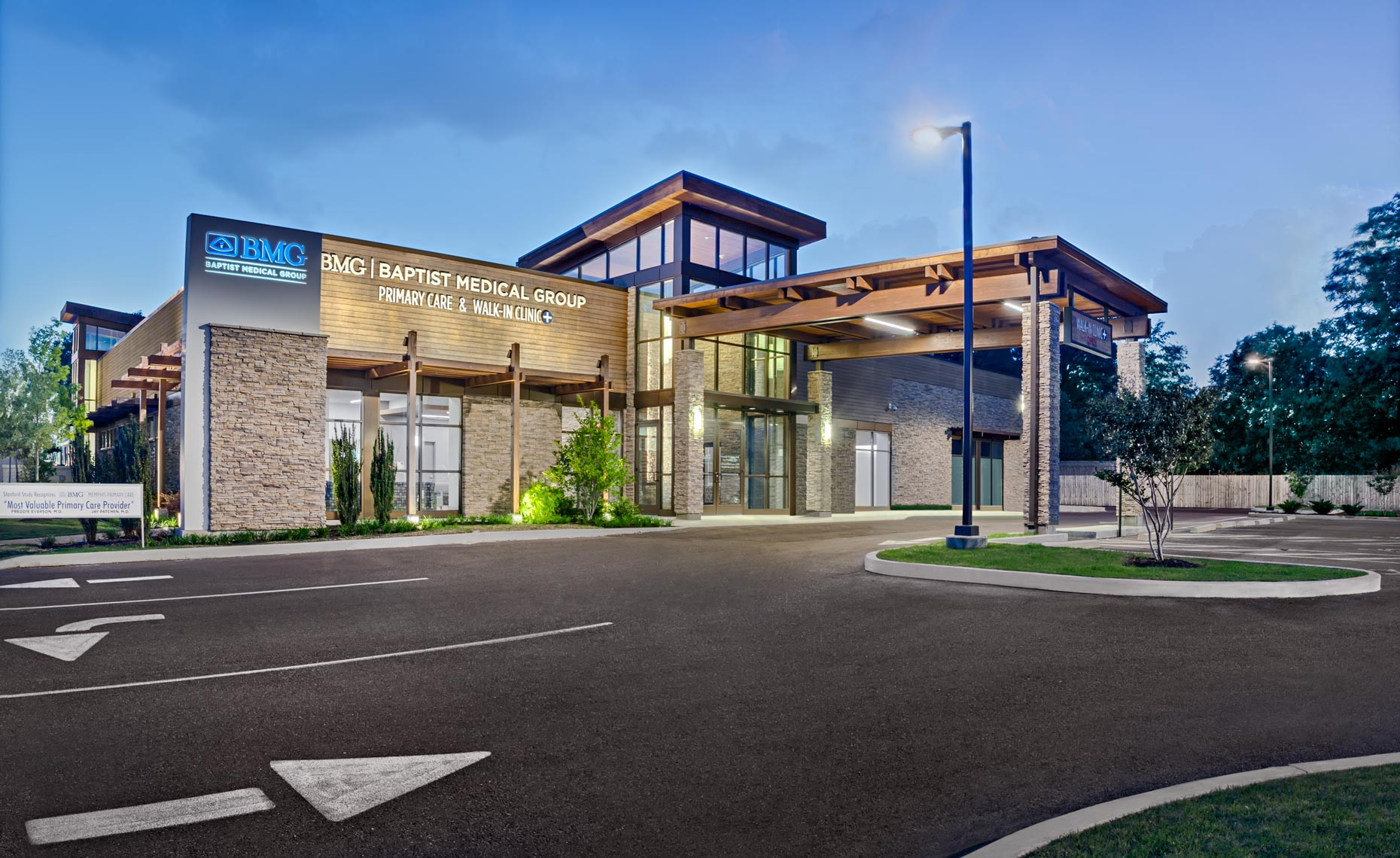 Memphis Architectural Photographer photo of Methodist Hospital Primary Care Clinic
